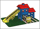 Lego set 351: Loader hopper with truck