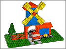 Lego set 352: Windmill and lorry