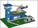 Lego set 354: Police heliport