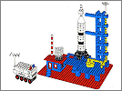 Lego set 358: Rocket Base