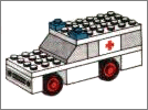 Lego set 600: Ambulance