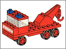 Lego set 601: Tow truck