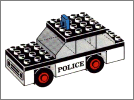 Lego set 611: Police car