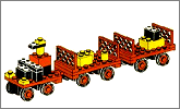Lego set 622: Baggage carts