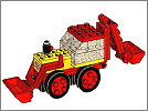 Lego set 642: Double excavator