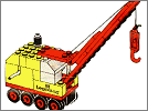 Lego set 643: Mobile crane