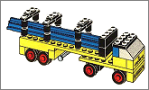 Lego set 647: Lorry with girders