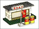 Lego set 648: Service station