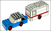 Lego set 656: Car and caravan
