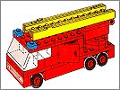 Lego set 658: Fire engine
