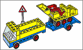 Lego set 692: Road repair crew