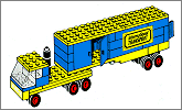 Lego set 694: Transport truck