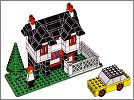 Lego / Weetabix promo set: Town house with yellow car and minifig